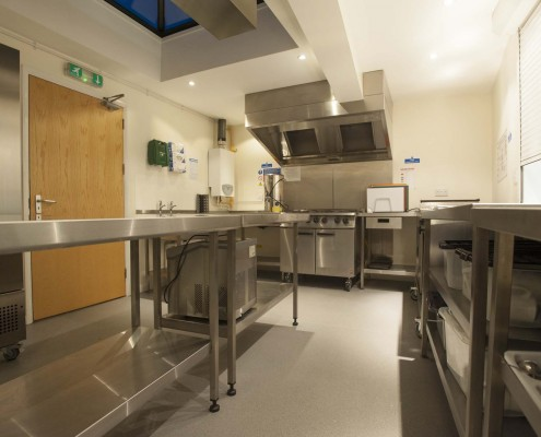 Kitchen facility Callington Town Hall