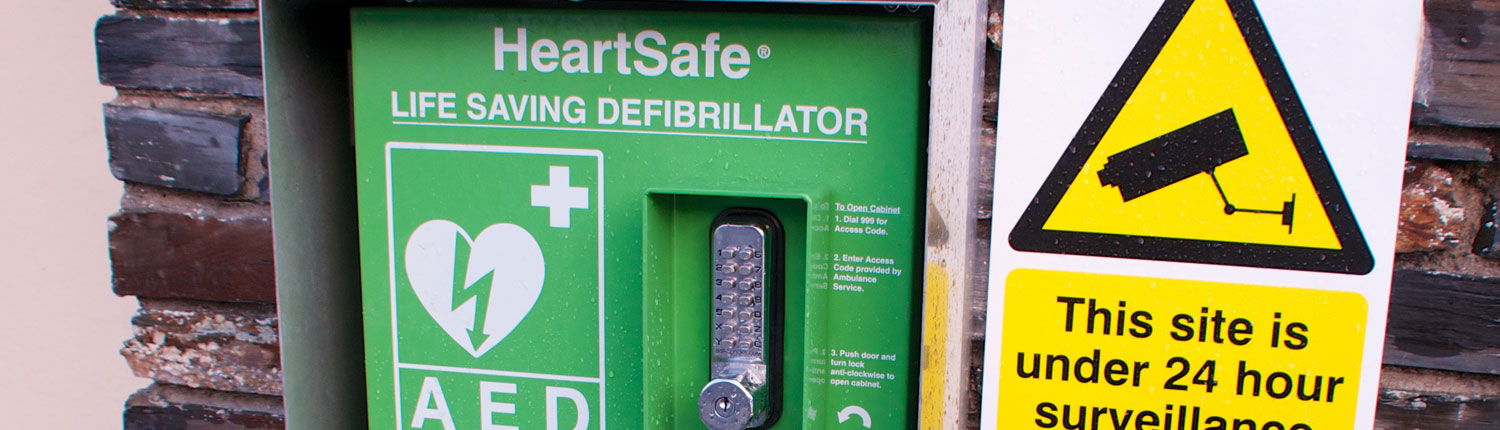 Defibrillator Callington Town Council